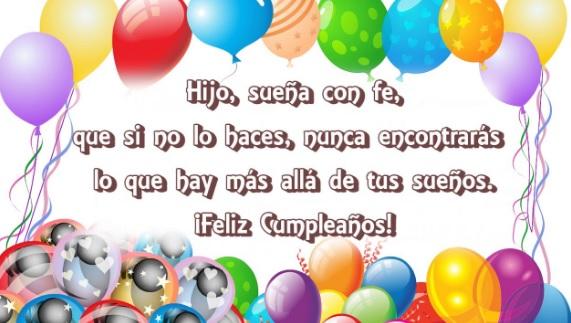 Las Más Bellas Frases de Feliz Cumpleaños para Un Hijo optimista