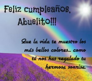 feliz cumpleaños abuelo maravilloso