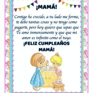 feliz cumpleaños bondadosa mamá