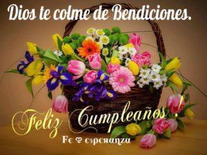 feliz cumpleaños dios te ilumine