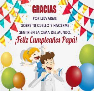 feliz cumpleaños papito protector