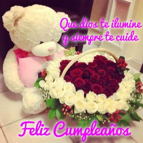 feliz cumpleaños que dios te ilumine