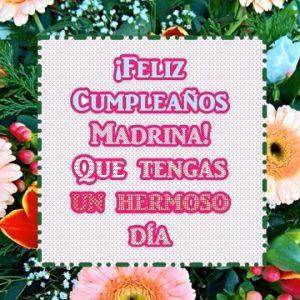 feliz cumpleaños hermosa madrina