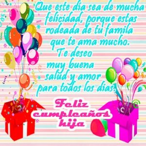 feliz cumpleaños hija alegre
