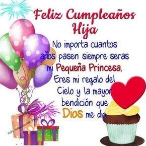 feliz cumpleaños hija bondadosa