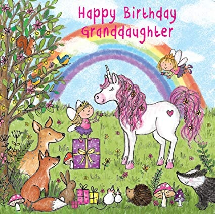 feliz cumpleaños nieta inteligente