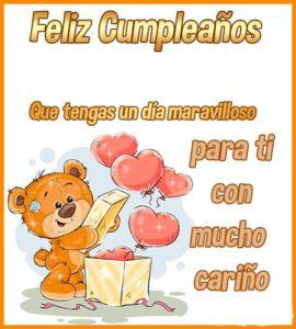 feliz cumpleaños prima famosa