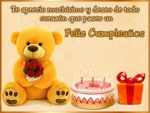 feliz cumpleaños prima increible