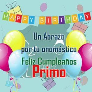 feliz cumpleaños primo optimista