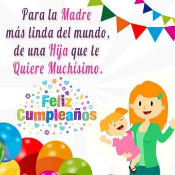 Feliz cumpleaños mamá perfecta