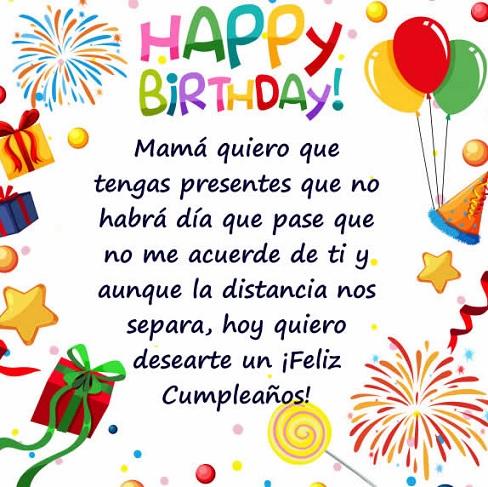 Feliz cumpleaños mamá trabajadora