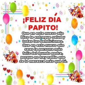 Feliz cumpleaños papito adorado