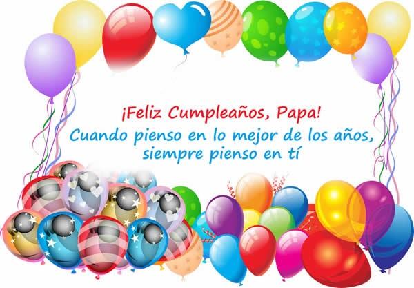 Feliz cumpleaños papito apreciado