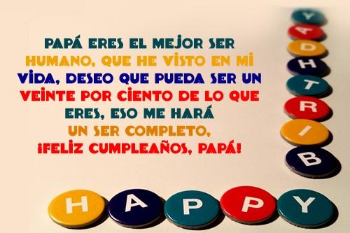 Feliz cumpleaños papito bello
