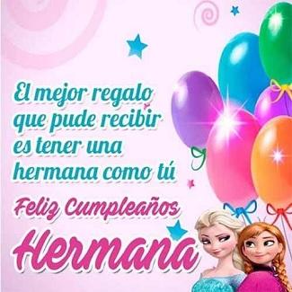 Bellas Frases de Cumpleaños para una Hermana | Cumpleaños Feliz A Ti