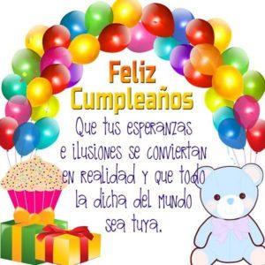 cumpleaños de mi hijo querido