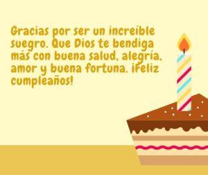 feliz cumpleaños suegrito