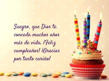 feliz cumpleaños suegrito apreciado