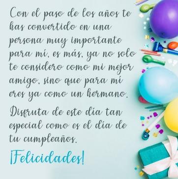 Cumpleaños Feliz A Ti Querido Amigo