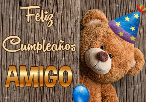 Cumpleaños Feliz A Ti bello Amigo