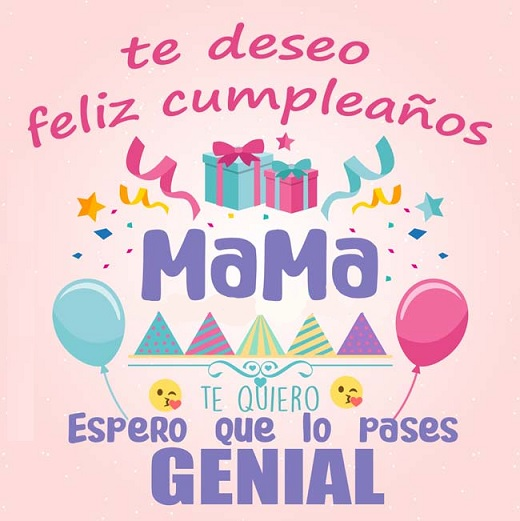 feliz cumpleaños mami bondadosa
